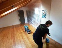Καταπολέμηση τερμιτών σε πάτωμα