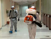 Ψυχρή εκνέφωση για προληπτική μικροβιοκτονία-απολύμανση κατά του COVID-19