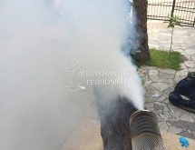 Απεντόμωση - θερμή εκνέφωση (hot fogging)