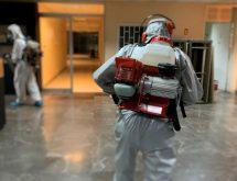 Ψυχρή εκνέφωση για προληπτική μικροβιοκτονία-απολύμανση με βενζινοκίνητους εκνεφωτές