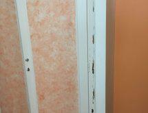 Προσβολή τερμιτών σε ξύλινη κάσα
