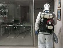 Ψυχρή εκνέφωση για προληπτική μικροβιοκτονία-απολύμανση σε γραφεία