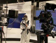 Προληπτική απολύμανση Covid-19 σε στούντιο της ΕΡΤ