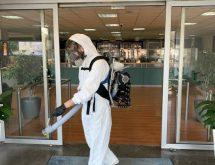 Προληπτική απολύμανση κατά του κορονοϊού στα γραφεία της ΕΡΤ