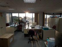 Νεφελοψεκασμός σε επαγγελματικό χώρο για COVID-19